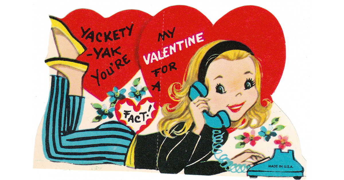 Just 12 retro Valentine\u0027s Day cards to take you back in time