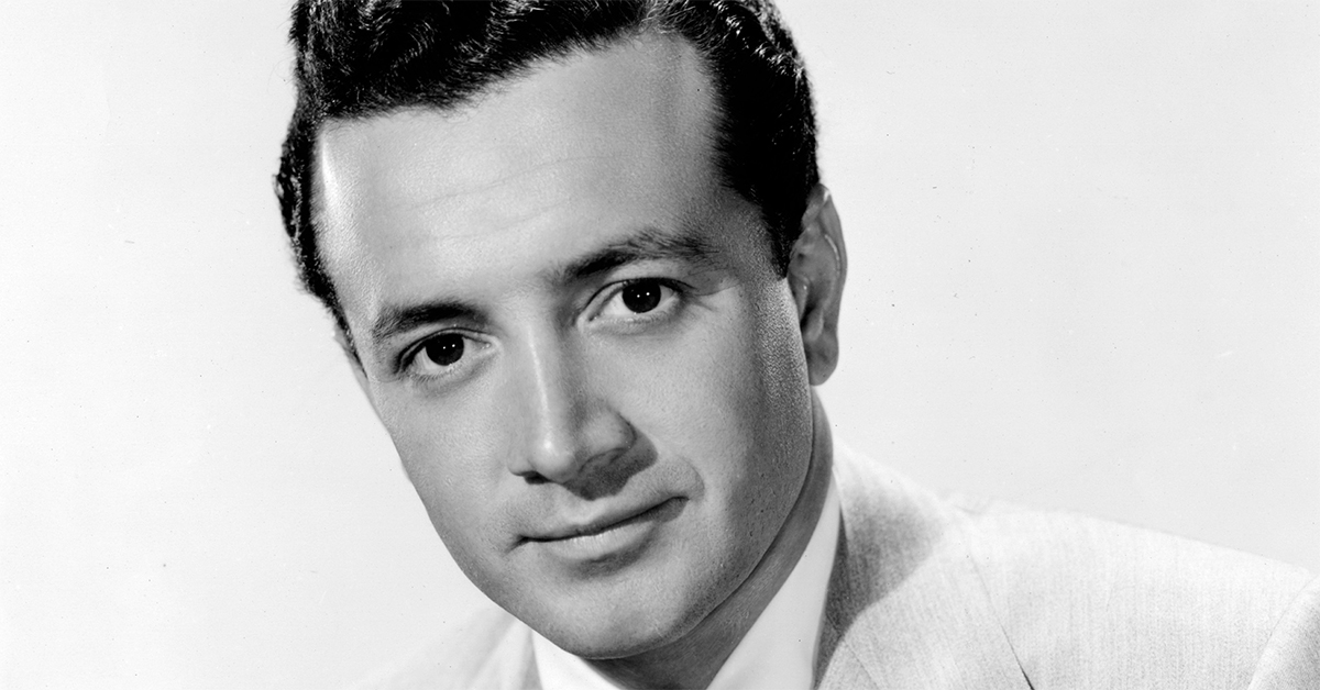 Vic Damone, legendary singer, popular entertainer and TV host