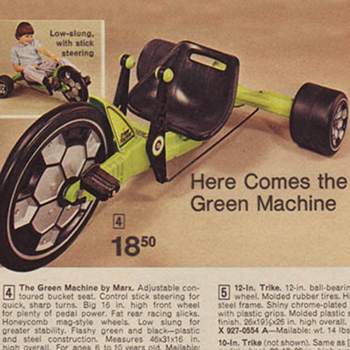 Image result for 1978 green machine