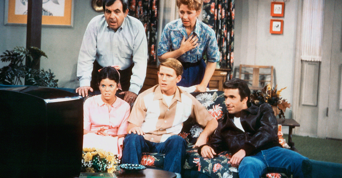 Remember how Happy Days made a musical about our nation