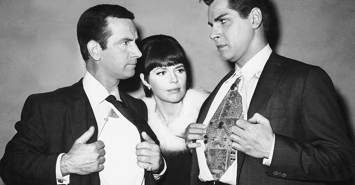 Dick Gautier, Hymie the Robot from 'Get Smart'