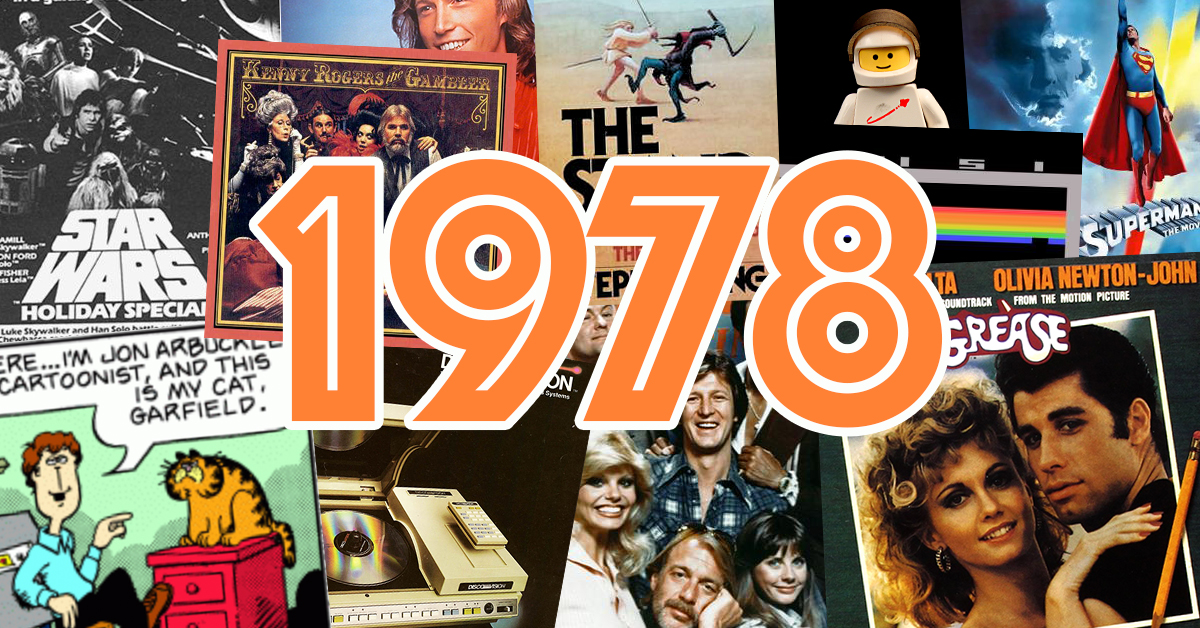 30 big things that happened in pop culture 40 years ago