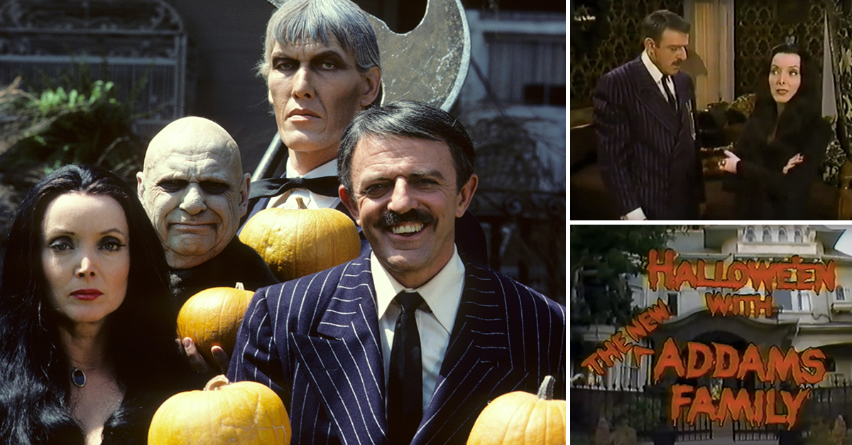 lets not forget the addams family returned in the 1970s for a halloween special
