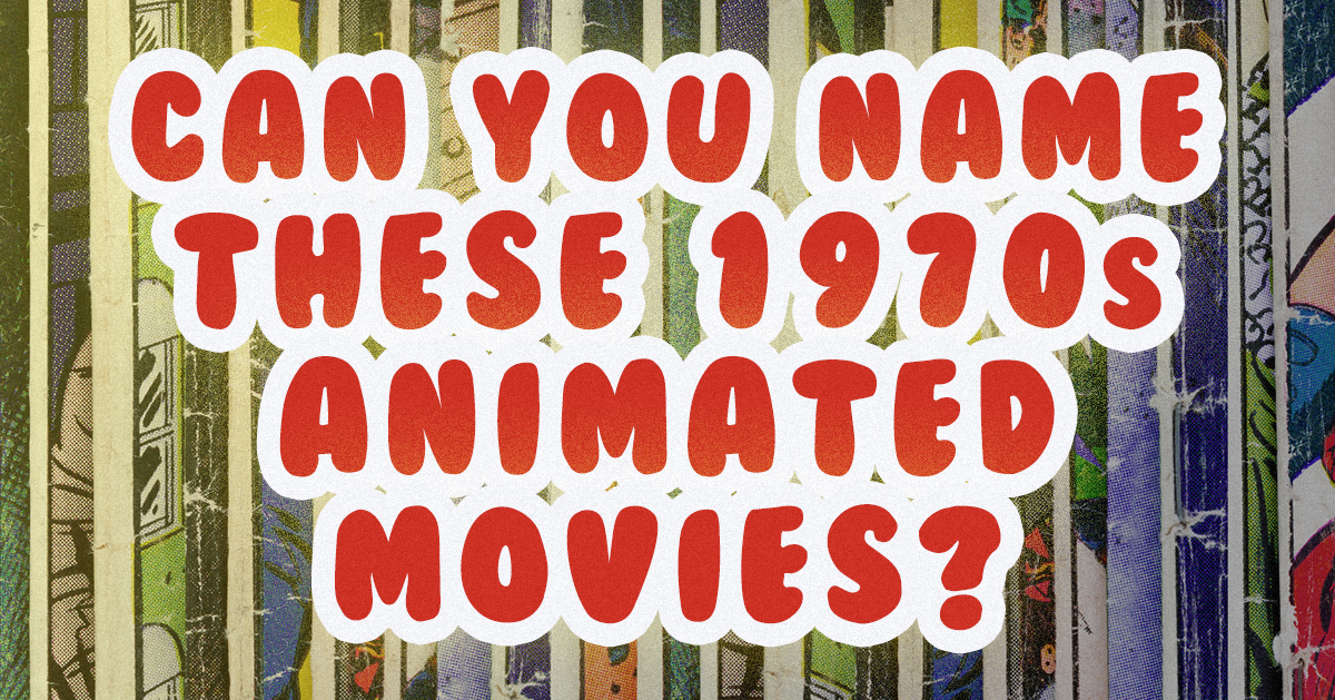 Can you name these 1970s animated movies from a single frame?