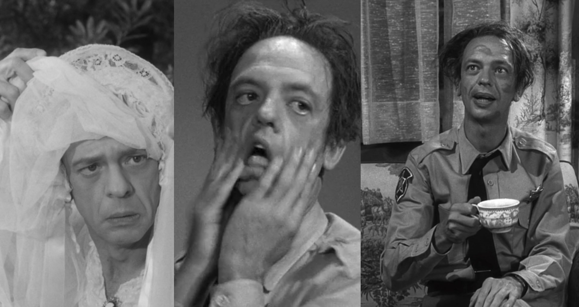 Do you actually think Barney Fife is funnier than anybody ...