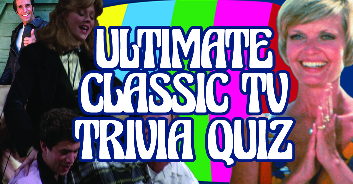 You're the ultimate classic TV fan if you can score 10/12 on