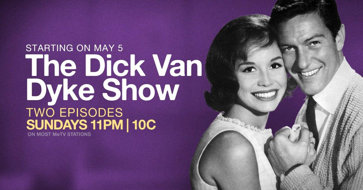 The Dick Van Dyke Show returns to MeTV beginning Sunday, May 5