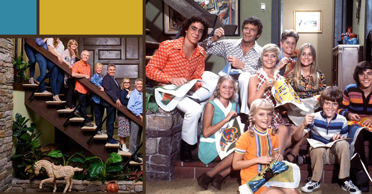The Brady Bunch cast reunited in their renovated house – and the set