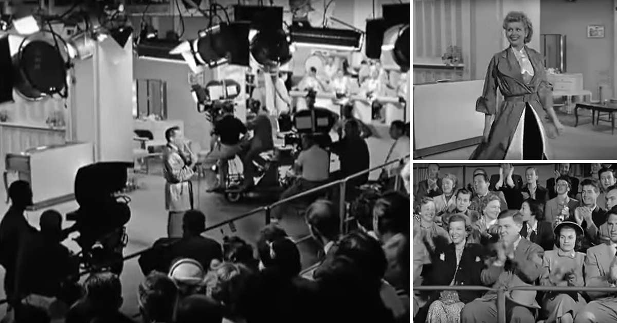 Check Out This Rare Behind The Scenes Footage From I Love Lucy