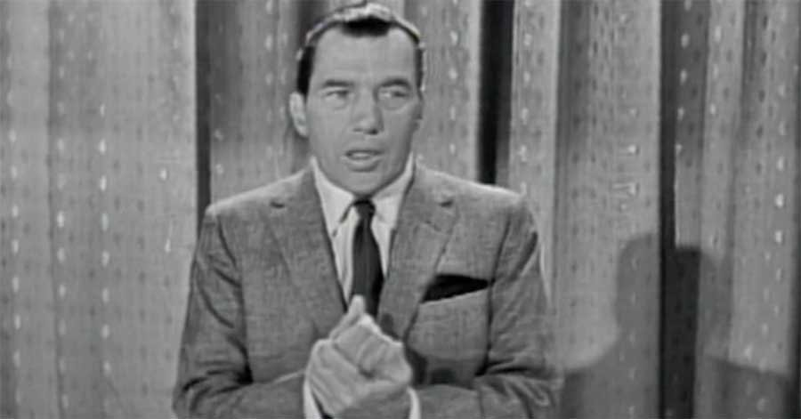 Holiday Greetings from the Ed Sullivan Show' was the