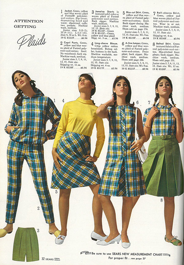 722112c96af3 What women were wearing in the summer of 1966