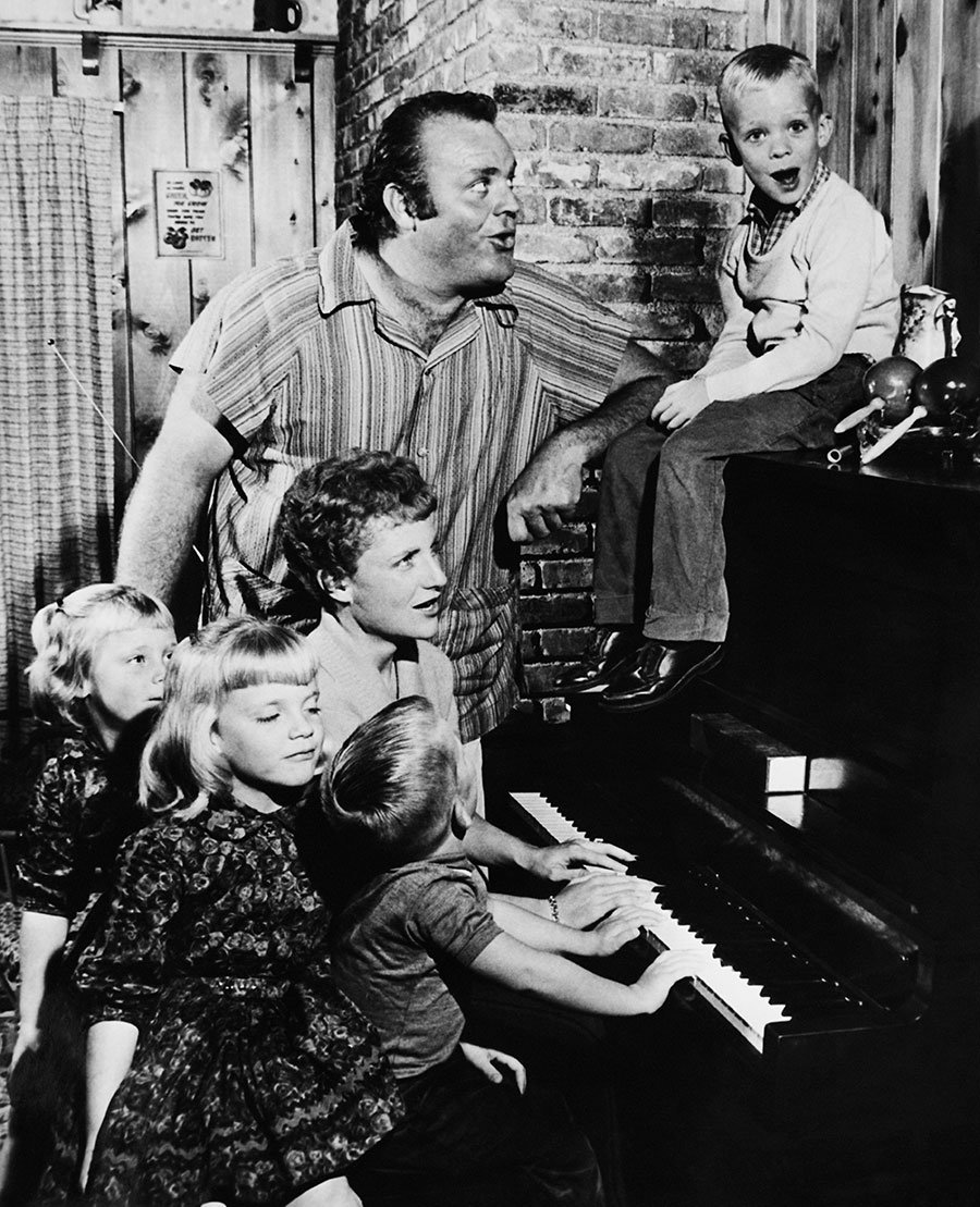 Dan Blocker's son, Dirk Blocker, got his start by hanging with his dad on  set