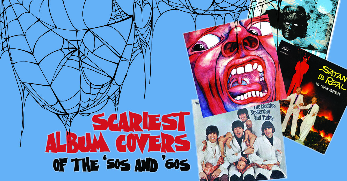 The Top 10 Surprisingly Scary Album Covers Of The 50s And 60s