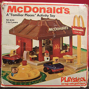 But It Did Influence Plenty Of Kids To Ask Their Parents Take Them There After Playing With A McDonalds Toy Set All Day