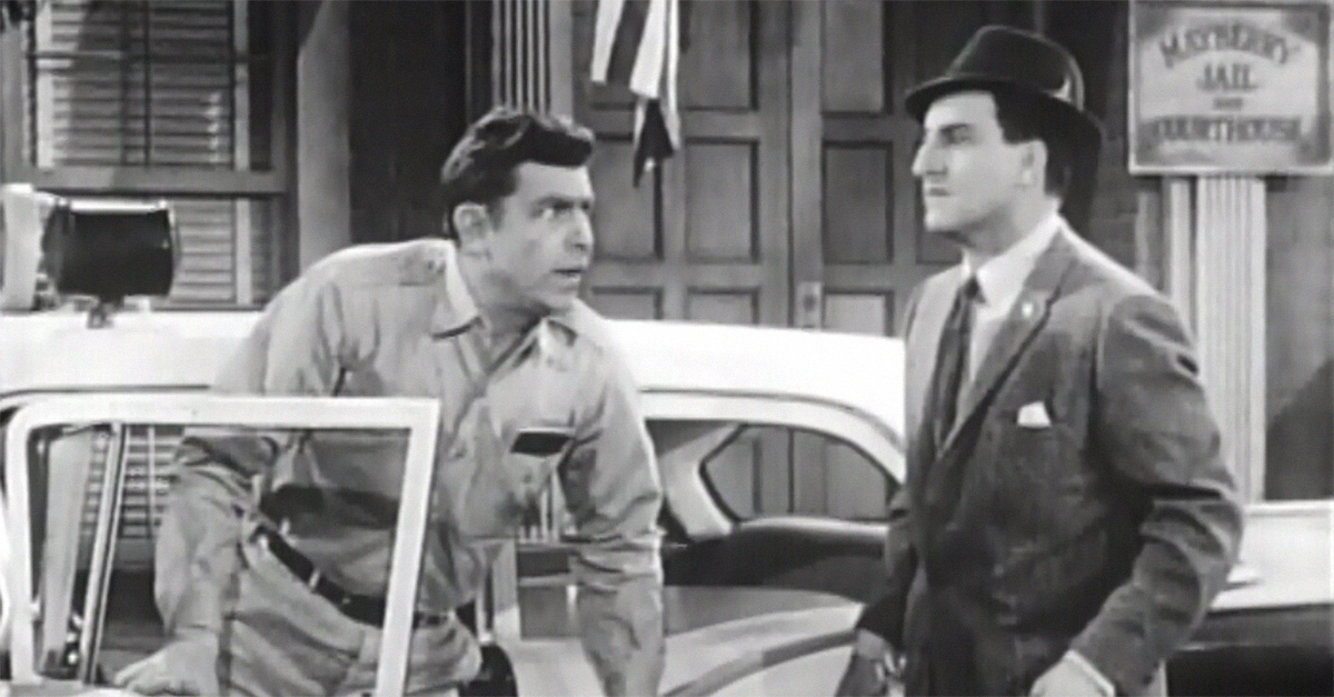 the original andy taylor had a tiny mean streak in the andy griffith