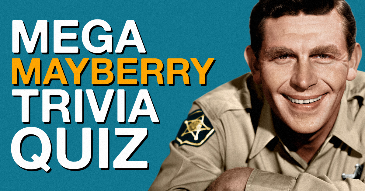 Are you a big enough Andy Griffith Show fan to ace this