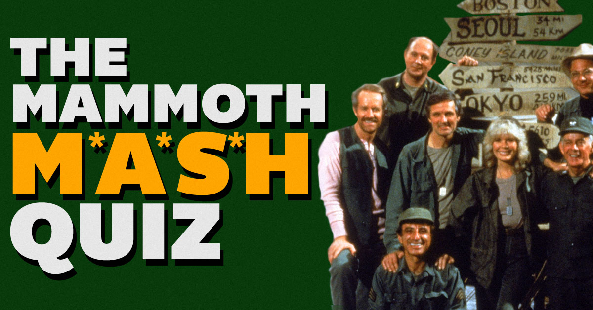 The mammoth 'M*A*S*H' quiz