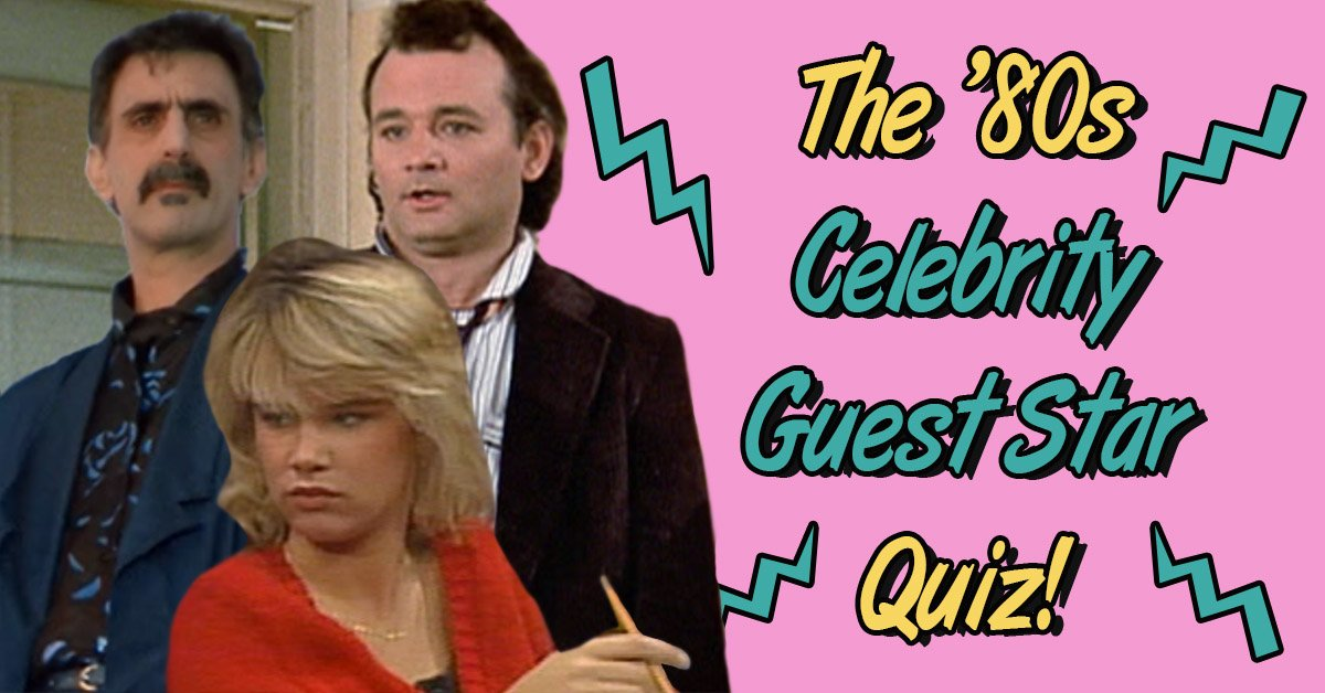 can you guess which 1980s show these celebrities are on