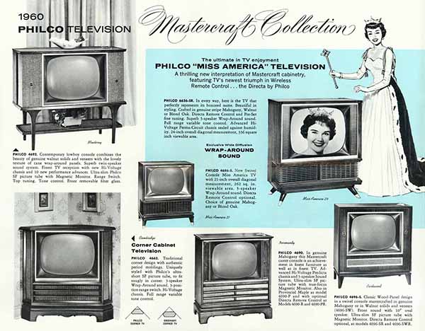 Remember When Televisions Were Furniture?