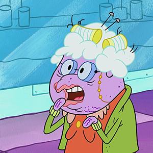 At The Bikini Bottom Mall You Can Find Betty White Voicing The Character Beatrice Who Owns The Shop Grandmas Apron Shes A Sincerely Sweet Old Lady