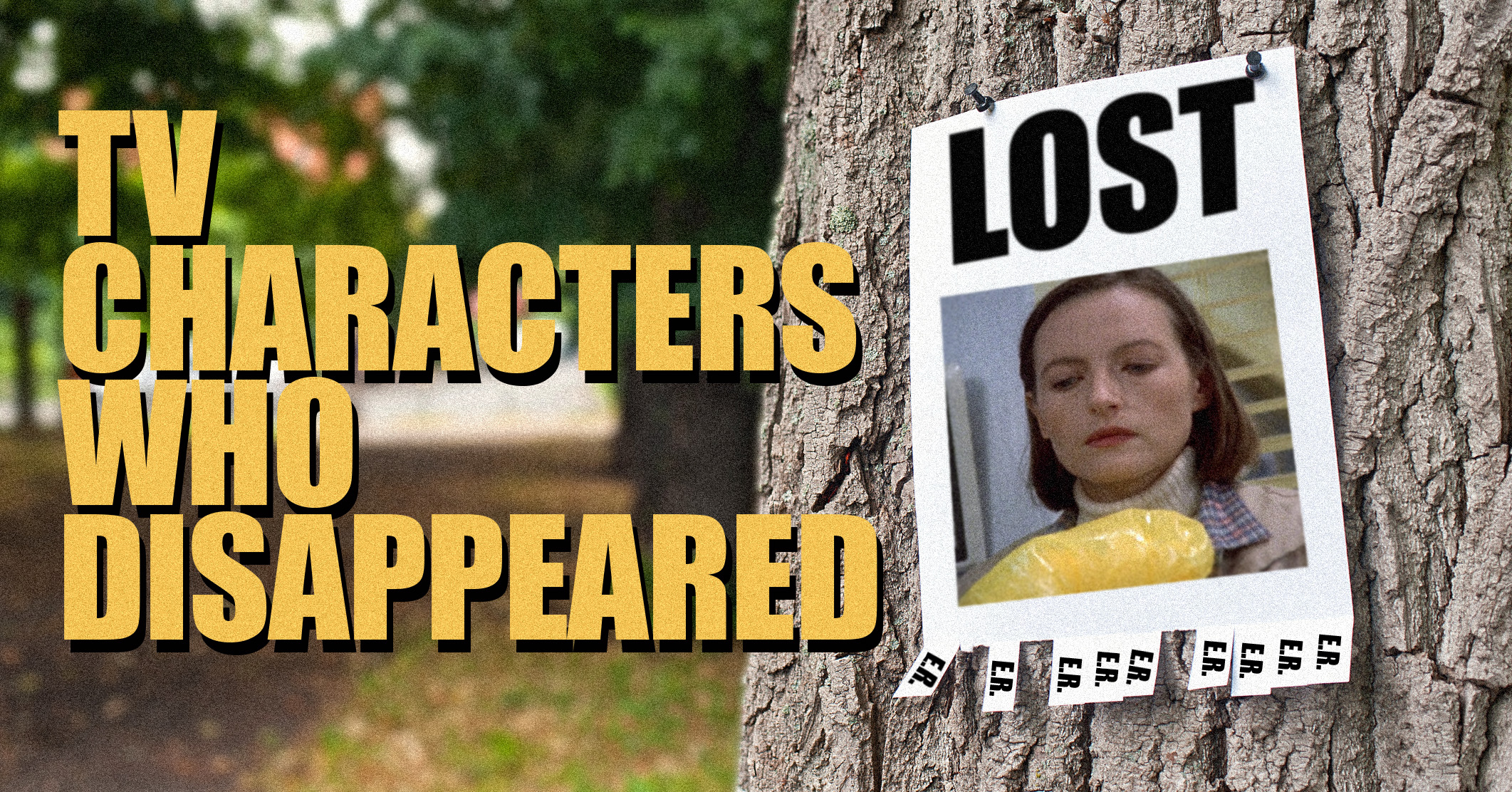 7 characters who disappeared from TV dramas without a trace