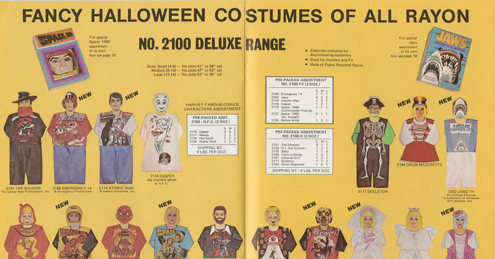 20 strange cheap halloween costumes from the 1960s and 1970s
