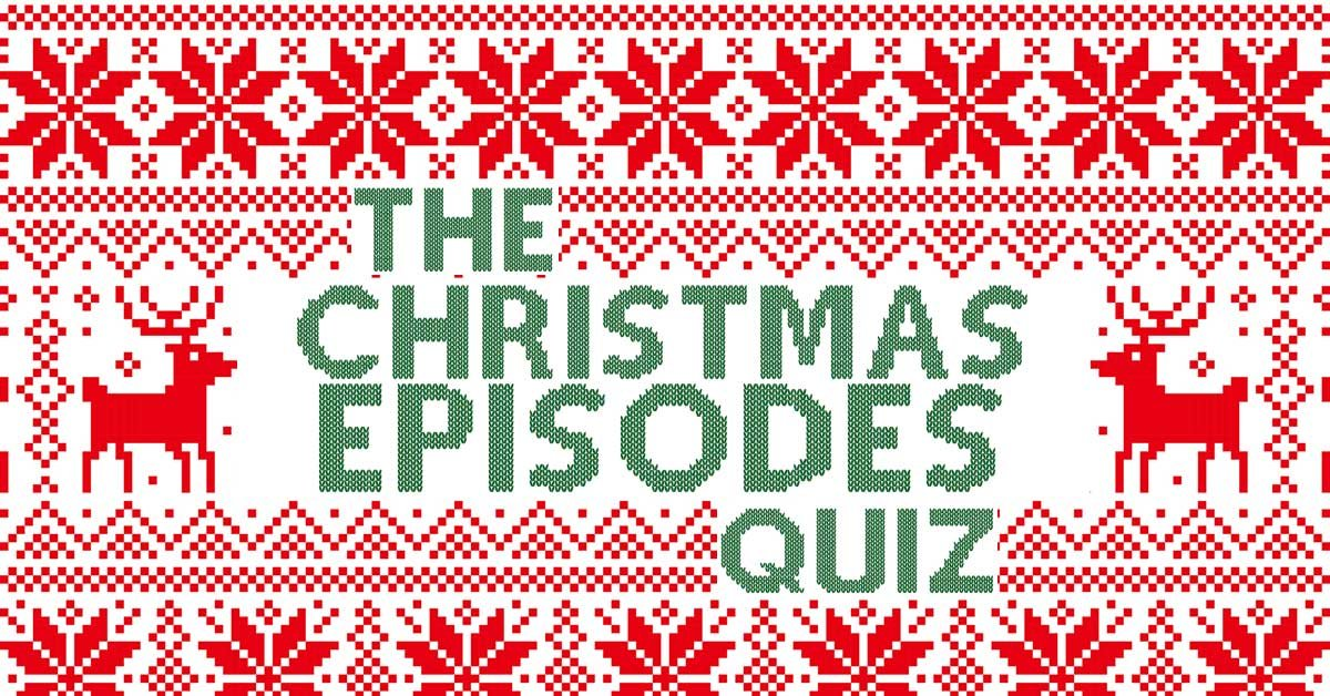 can you name the tv show by the name of its christmas episode