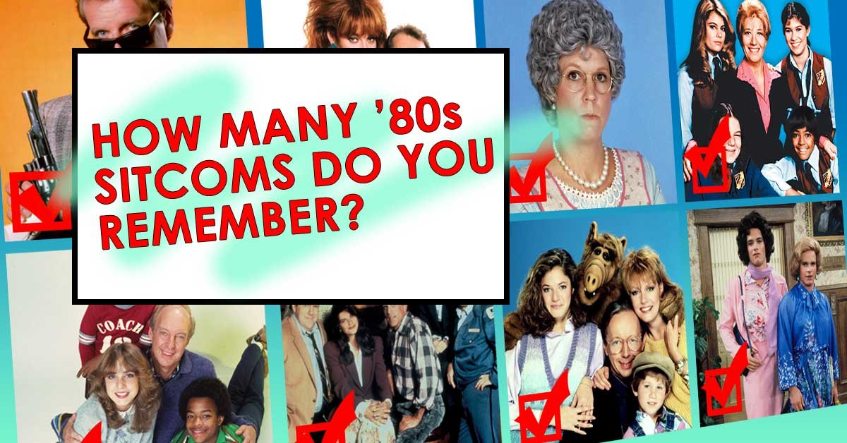 How many 1980s sitcoms can you remember?