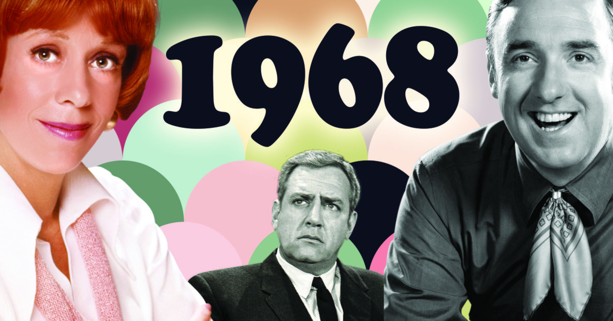 Can you pick the top-rated shows of 1968?