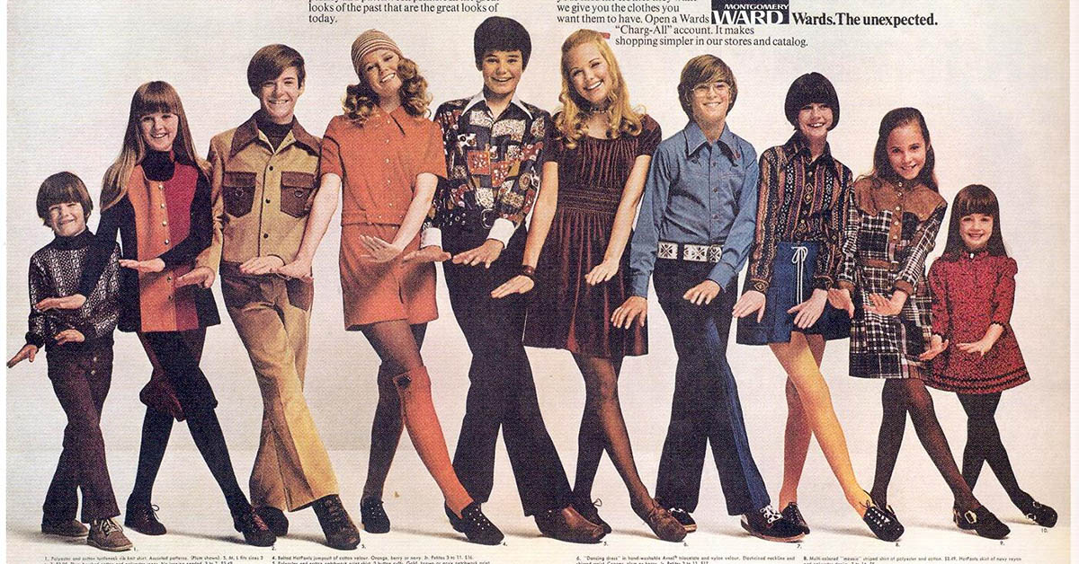 70s fashion began where the 60s