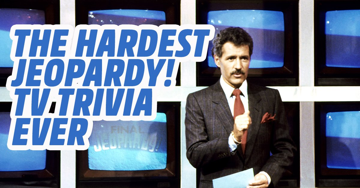 Can you answer some of the hardest TV trivia in the history
