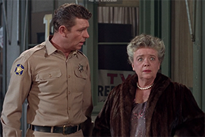 aunt bea on andy griffith