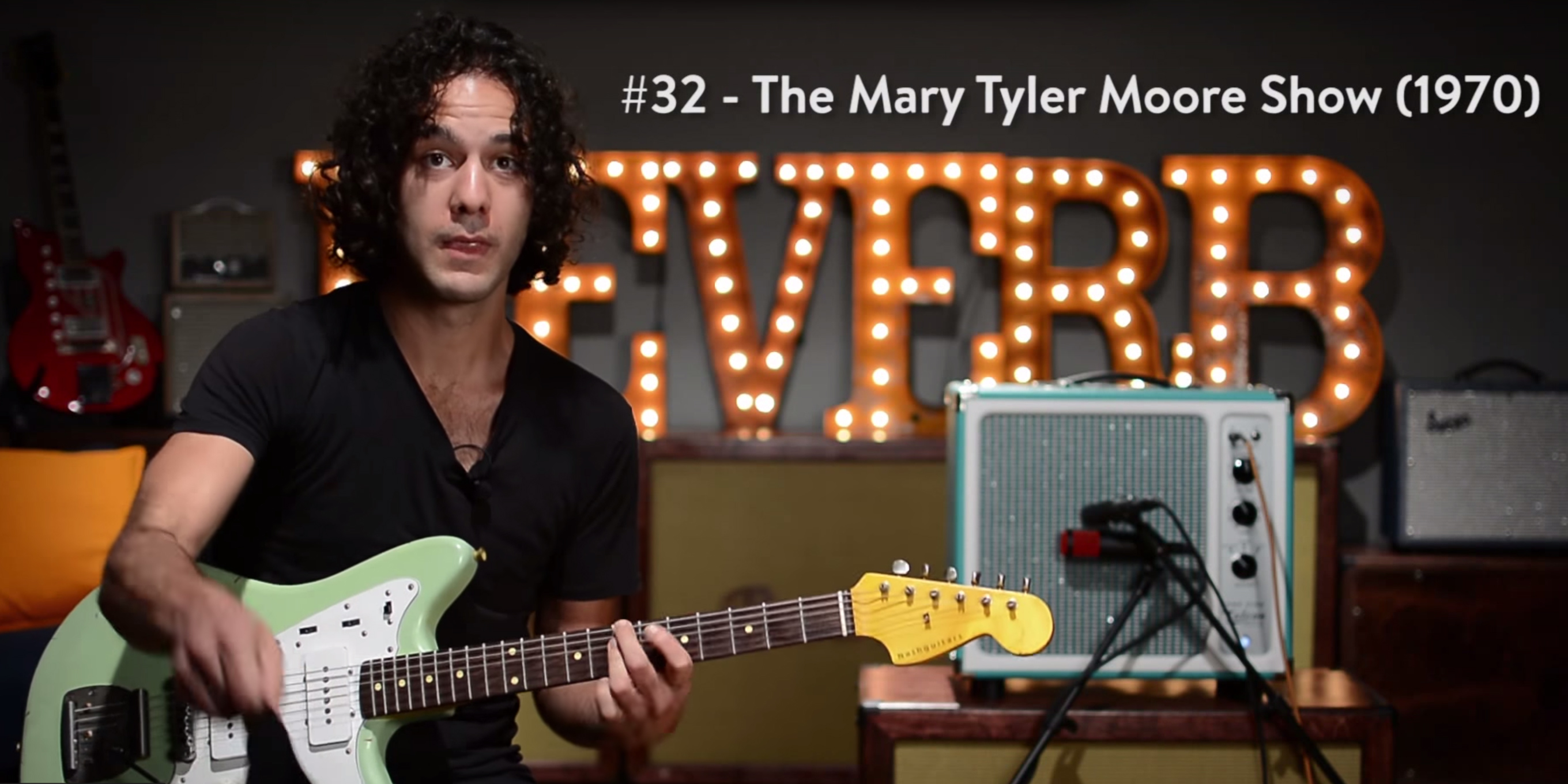 Watch a guitarist play 100 TV theme songs in 11 minutes