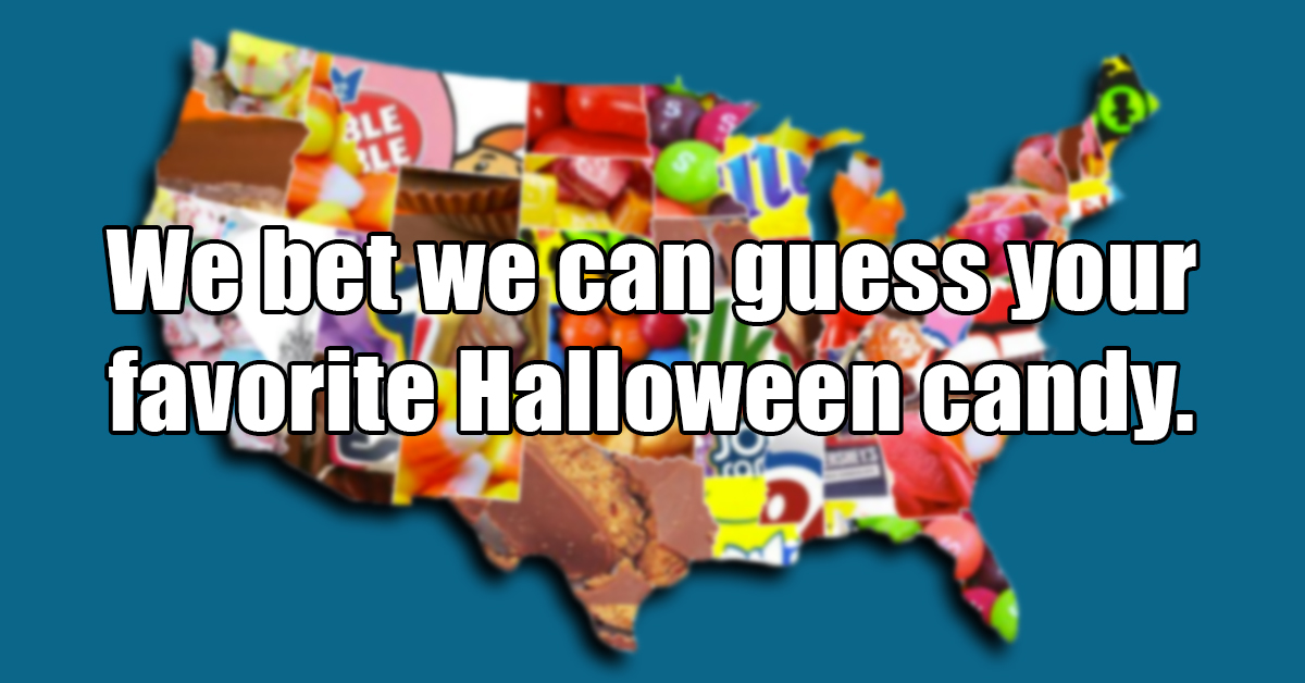 we bet we can guess your favorite halloween candy based on these questions