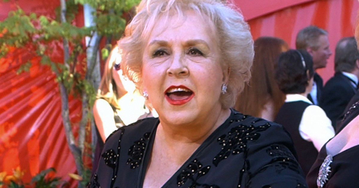 DORIS ROBERTS, 'RAYMOND' MOM AND 'REMINGTON STEELE' STAR
