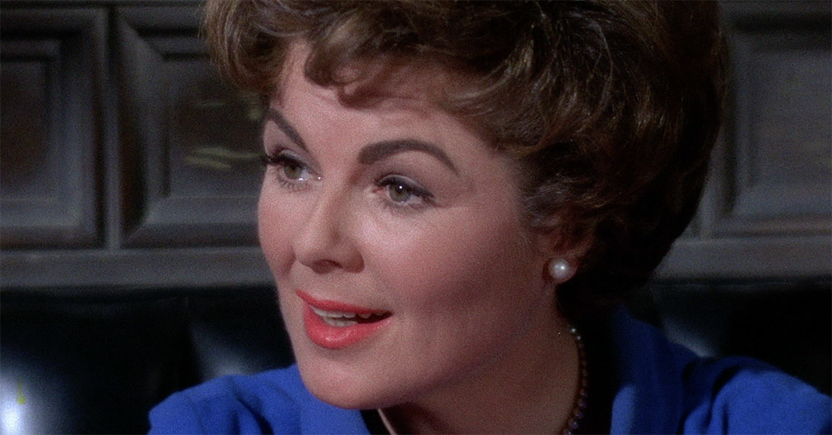 BARBARA HALE OF 'PERRY MASON'