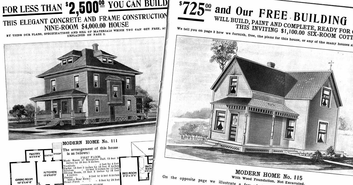 These four Sears Catalog Homes are still standing – and for sale