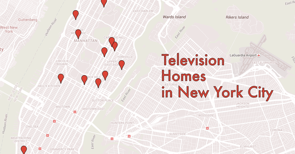 Where Television Characters Lived In New York City