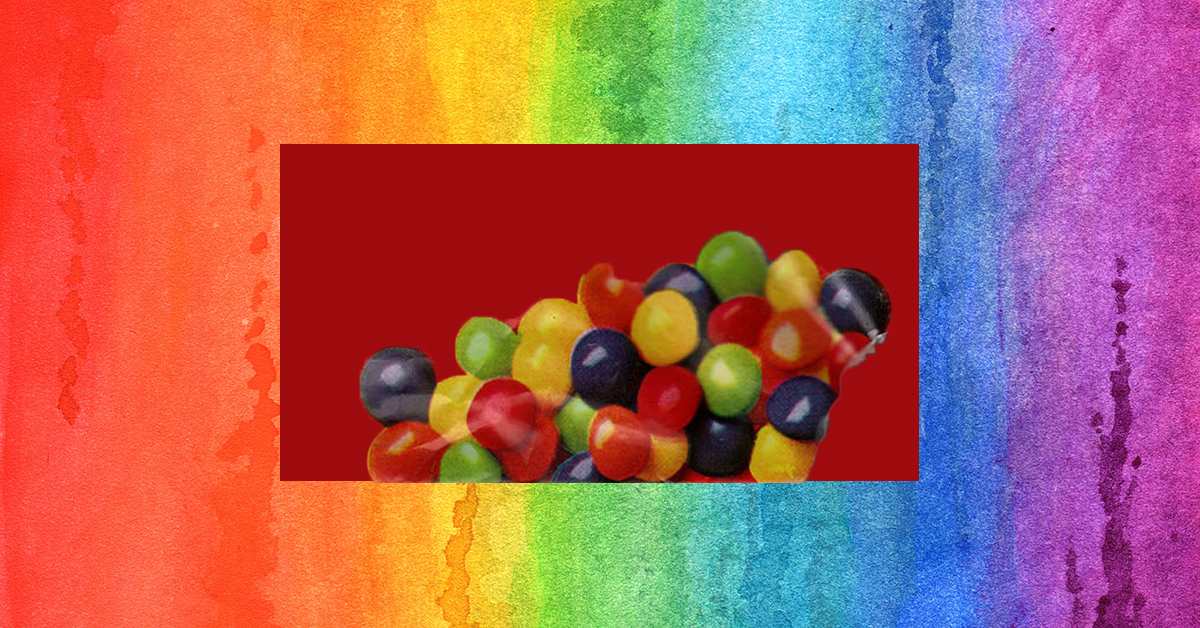 Can you name all these rainbow candies?