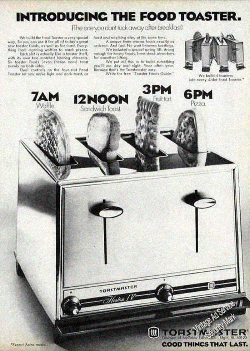 These 11 vintage toaster ads are surprisingly fascinating