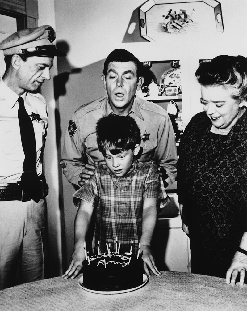 11 rare behind the scenes photos from the andy griffith show - Andy Griffith Show Christmas Story