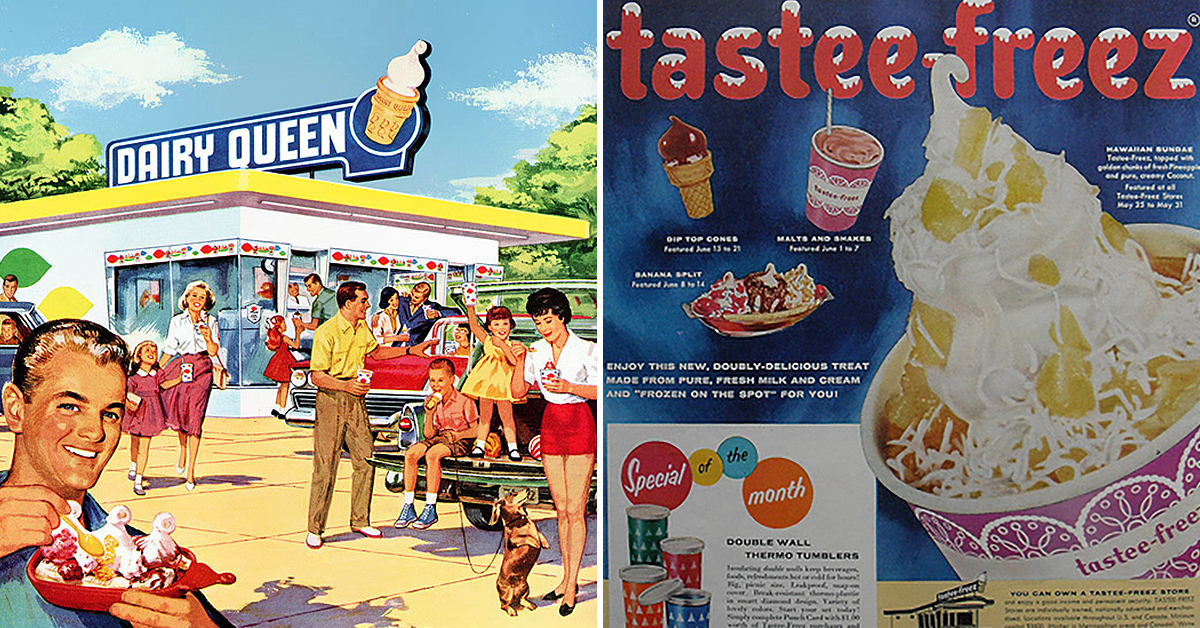 14 refreshing vintage ads to get you through the dog days ...