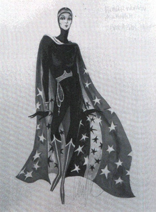 H I The Original Concept Sketches For The Wonder Woman Tv Show Costume Are Both Gorgeous And Revelatory