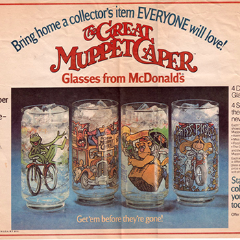 10 collectable fast food glasses we still want