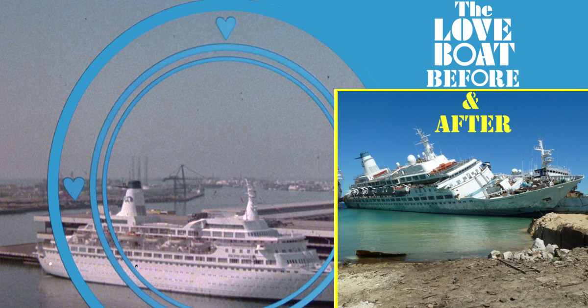 See Photos From The Final Days Of The Nowdemolished Cruise Ships - Cruise ship worker blog