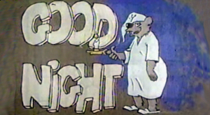 Vintage tv sign off sound wav opinion, interesting