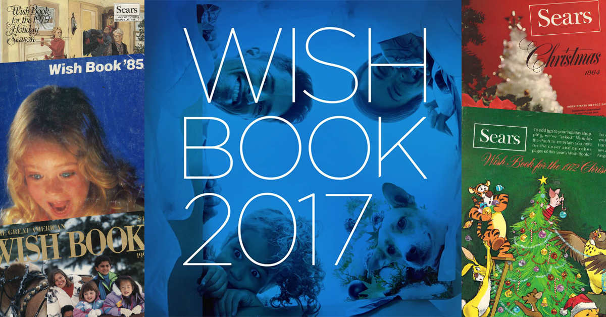 Sears Christmas Wish Book.Rejoice Sears Brought Back Its Classic Wish Book Catalog