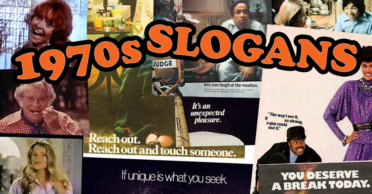 Can You Match The Correct Product To 1970s Advertising Slogan