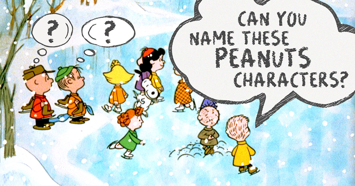 17a66c83d4fa9 Can you name these characters from Charlie Brown holiday specials