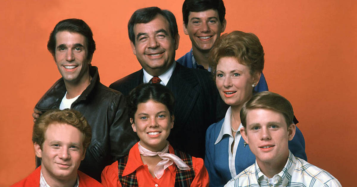 Image result for cast of happy days